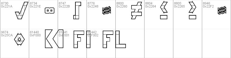 3x5 Font