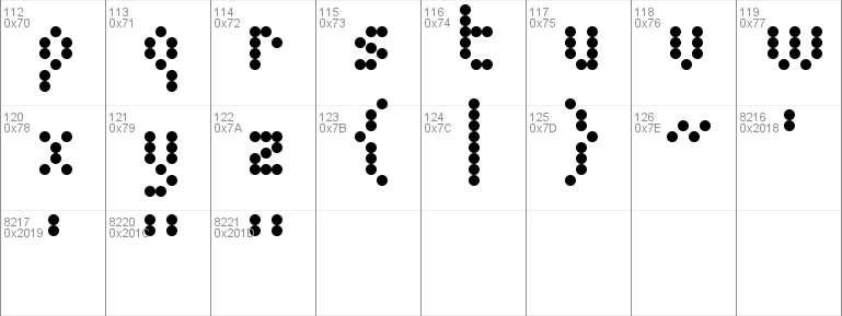 5 Dotmatrix 1979