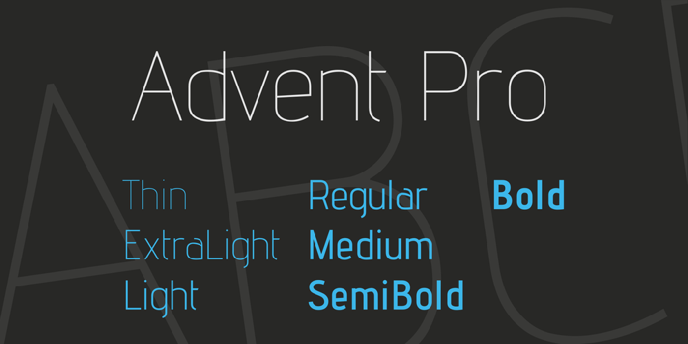 Advent Pro