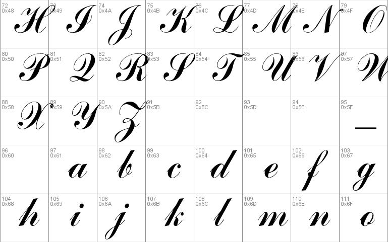 font arenski