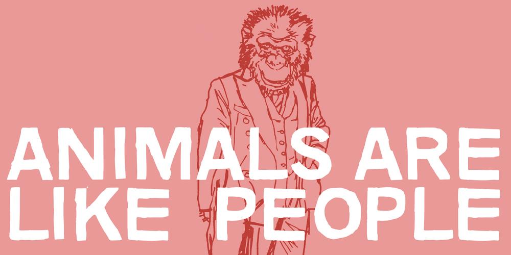 Animals are like people