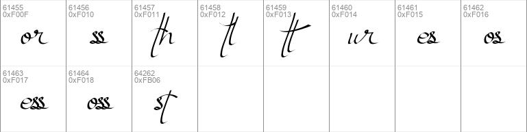Atthia calligraphy