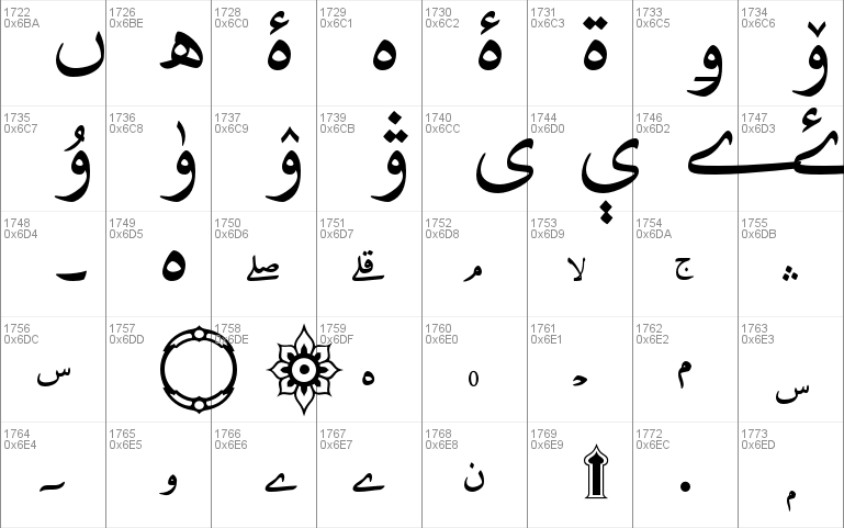 Adobe Naskh Medium font - free for Personal
