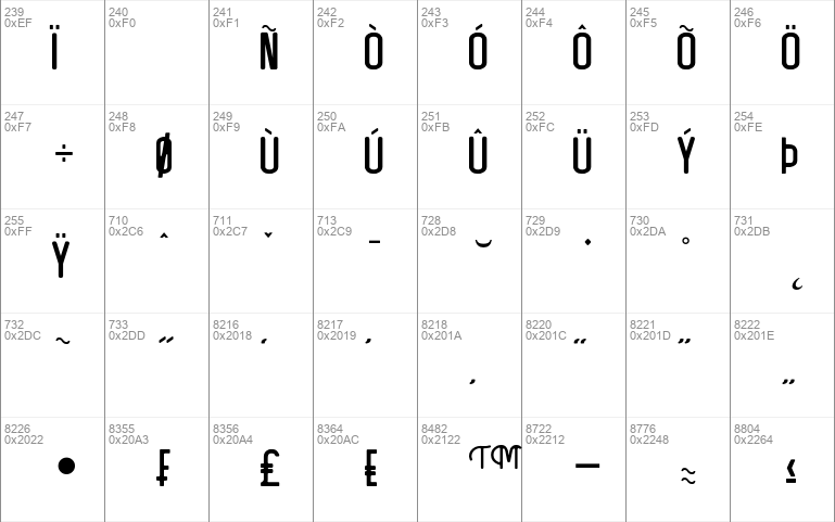 Artefak Clean Typeface