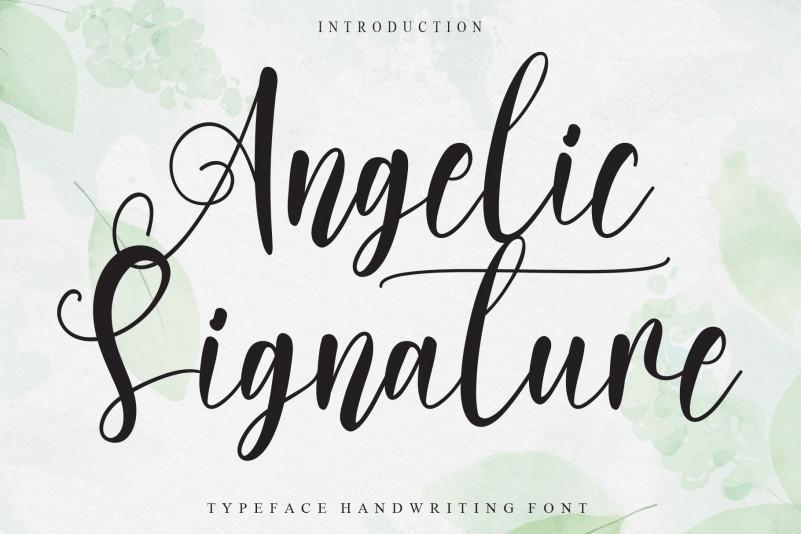 Angelic Signature