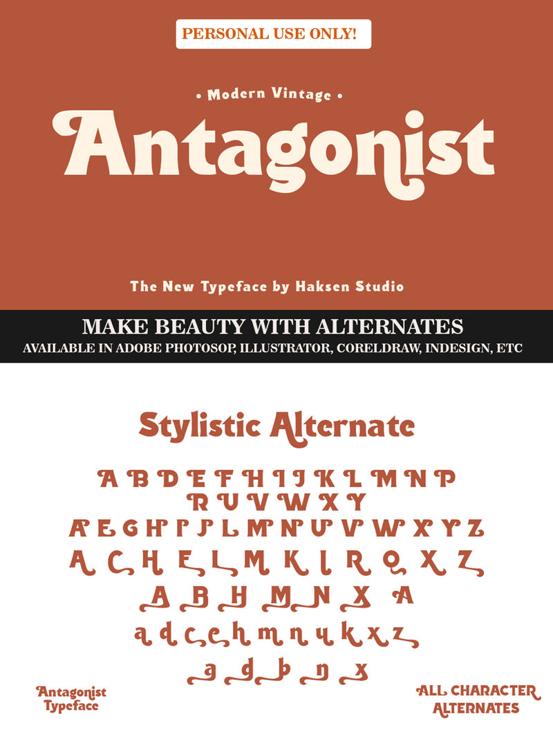 Antagonist - Personal Use