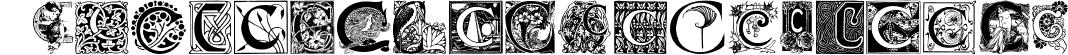Art Nouveau Initials C