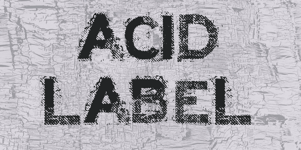 ACID LABEL
