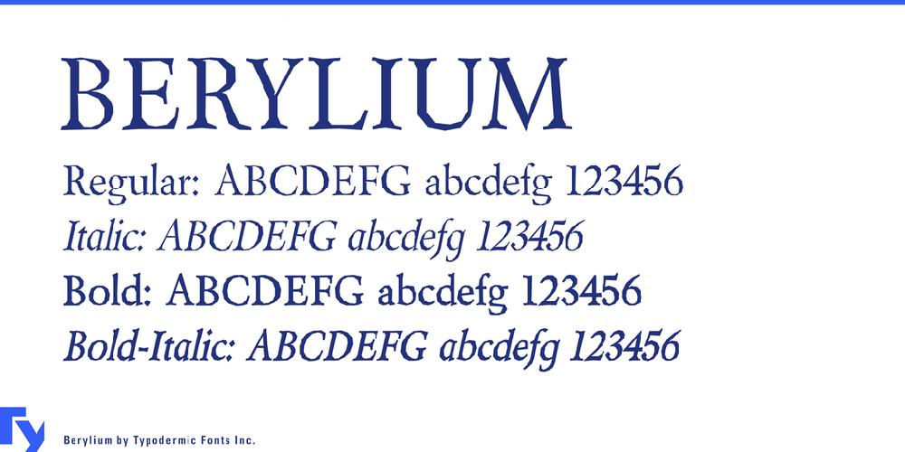Berylium