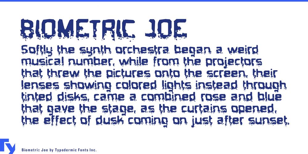 Biometric Joe