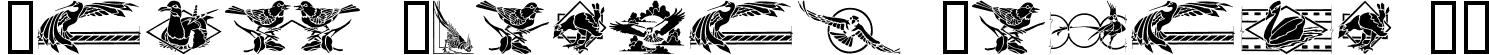 Bird Stencil Design II