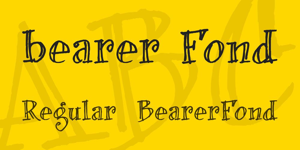 bearer Fond