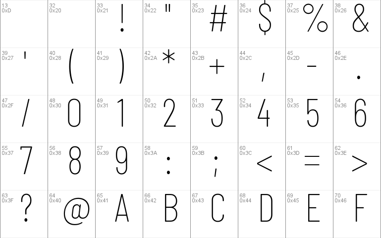 Barlow Condensed Windows font - free for Personal   Commercial