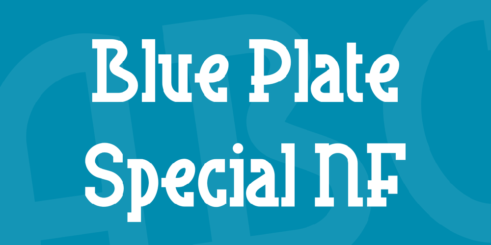 Blue Plate Special NF