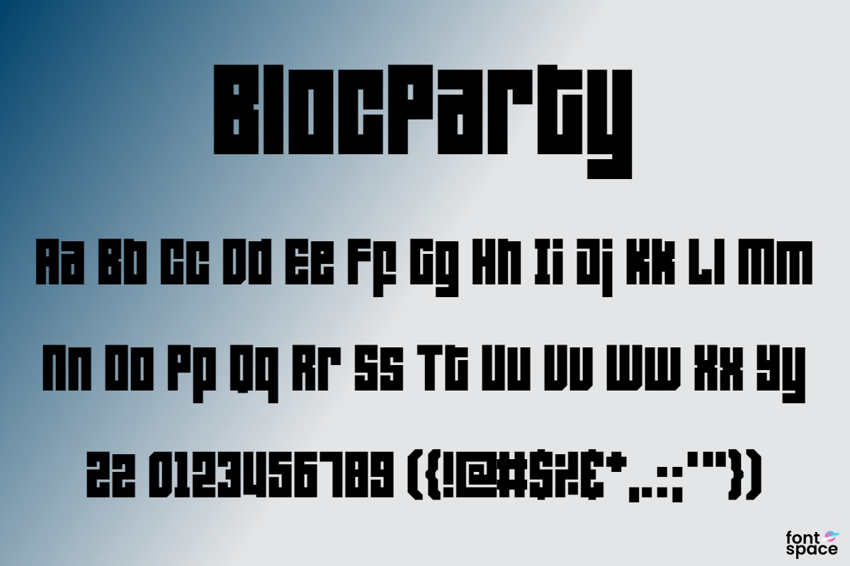 BlocParty Outline
