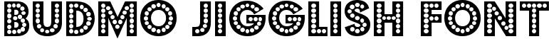 Budmo Jigglish Font