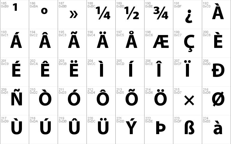 Bahij Myriad Arabic Windows font - free for Personal