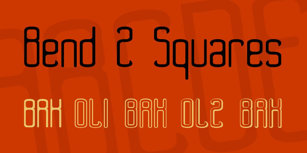 Bend 2 Squares