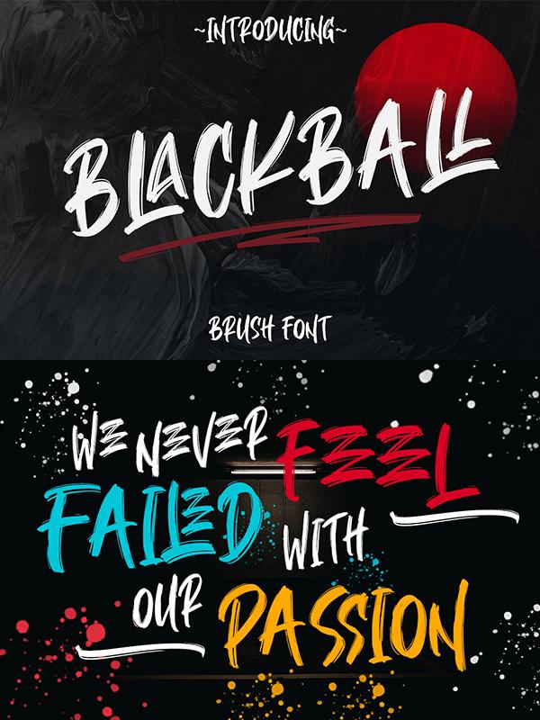 BLACKBALL brush