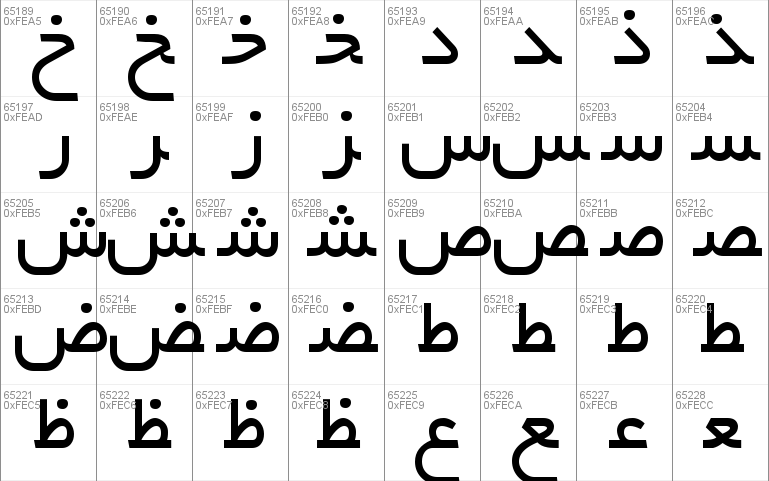 b yekan font