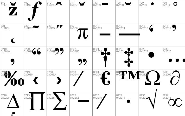 Bodoni MT Windows font - free for Personal