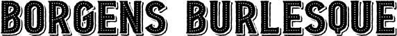 Borgens Burlesque
