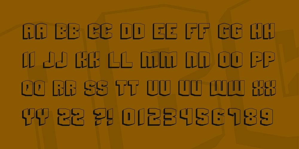 Beyond Control font - free for Personal