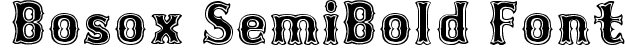 Bosox SemiBold Font