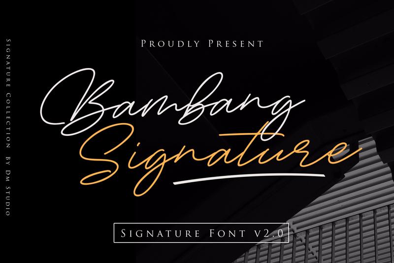 Bambang Signature vol 2.0