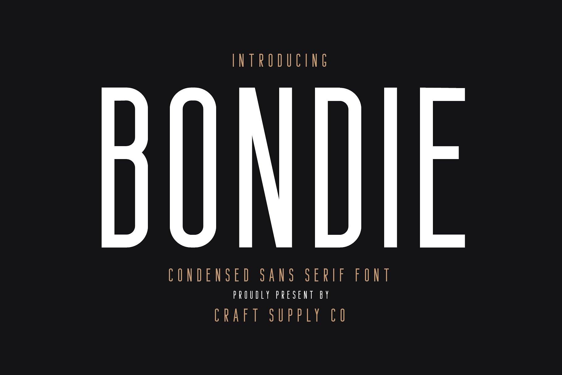 Bondie Demo