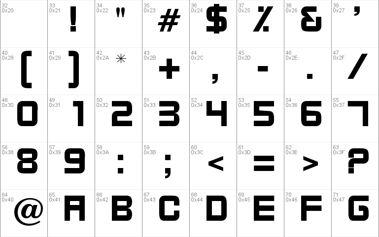 Bixby Windows font - free for Personal