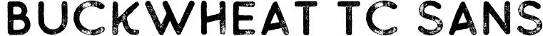 Buckwheat TC Sans