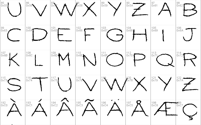 Ballpoint Scratch Windows font - free for Personal | Commercial