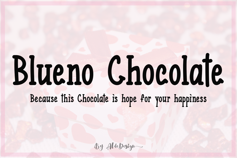 Blueno Chocolate