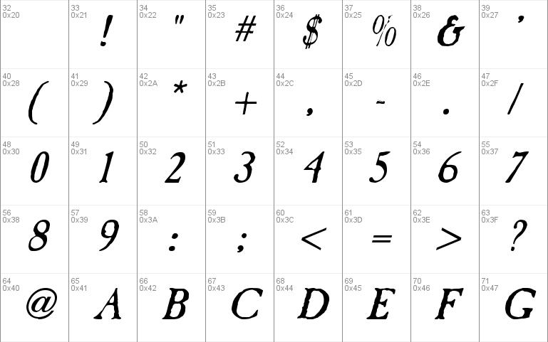 Caslon Antique Windows font - free for Personal