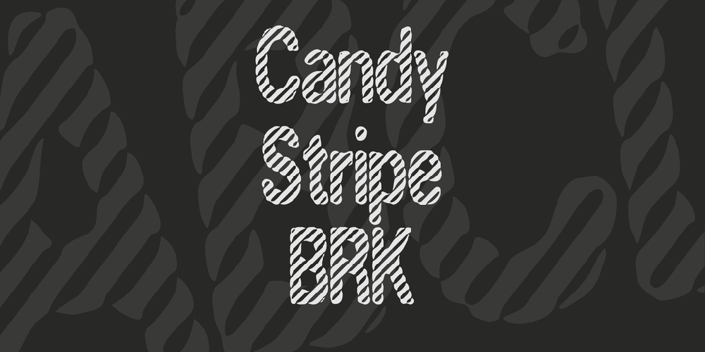 Candy Stripe BRK