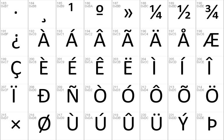 Calibri Arabic Font