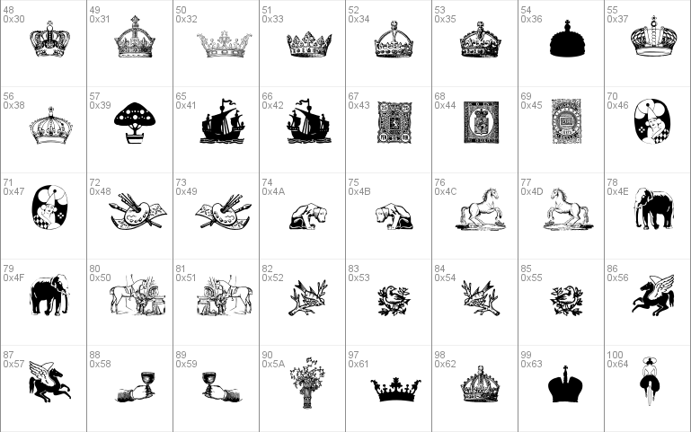 Cornucopia of Dingbats Five