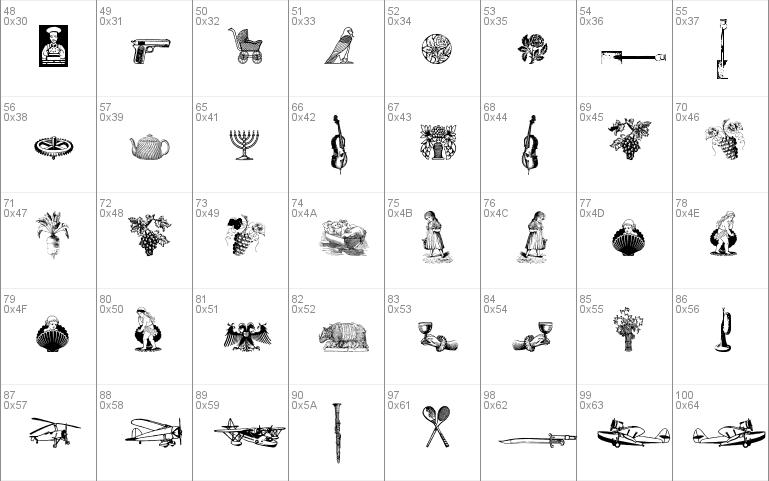 Cornucopia of Dingbats Six