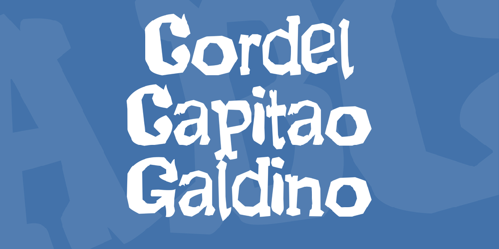 Cordel Capitao Galdino