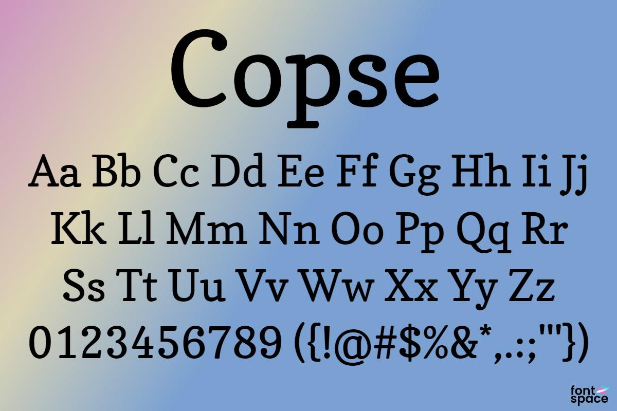 Copse basic