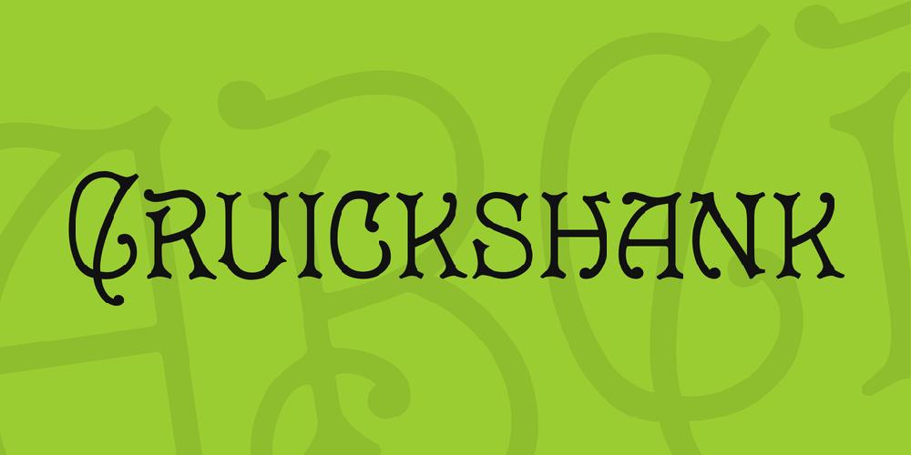 Cruickshank