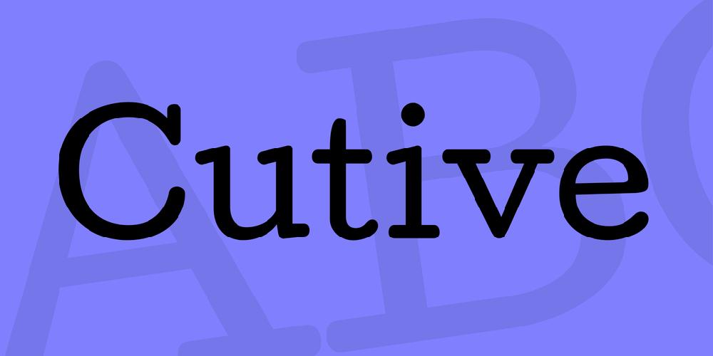 Cutive