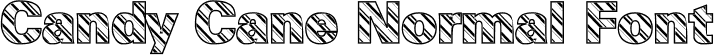 Candy Cane Normal Font