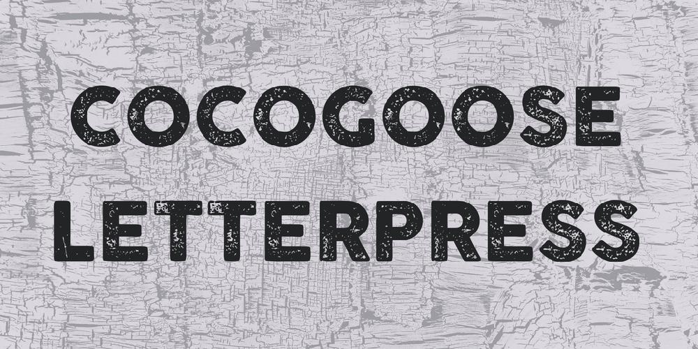 COCOGOOSE LETTERPRESS