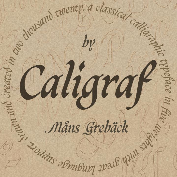 Caligraf Black PERSONAL USE