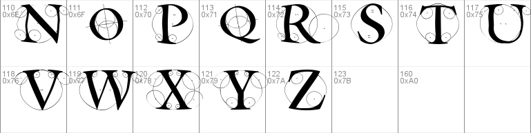 Circle Initials Freestyle