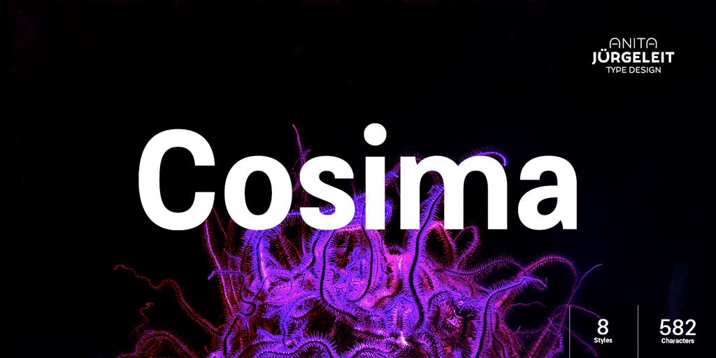 Cosima sans serif