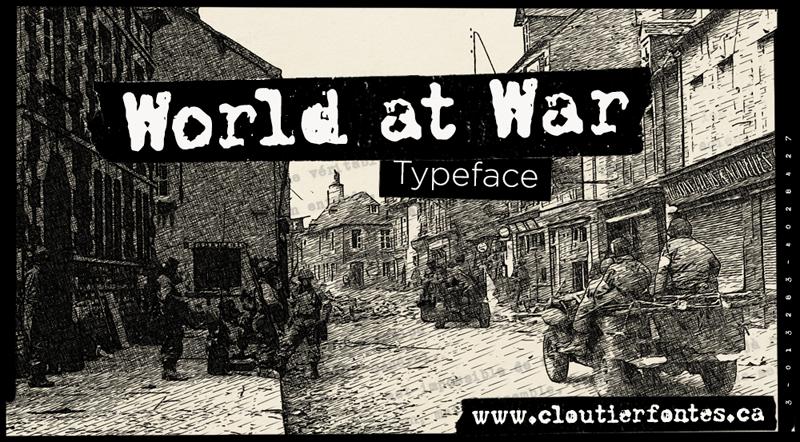 CF World at War PERSO