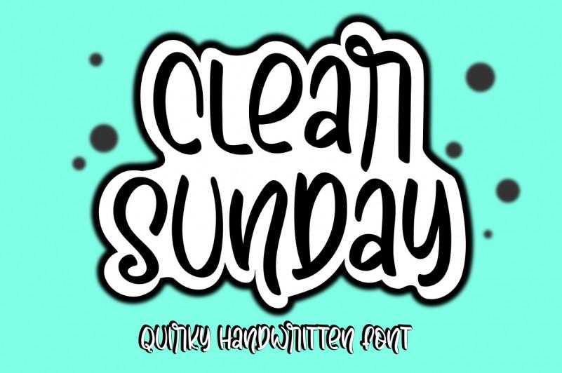 Clear Sunday